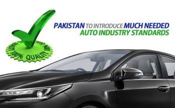 Pakistan to Introduce Much Needed Auto Industry Standards 20