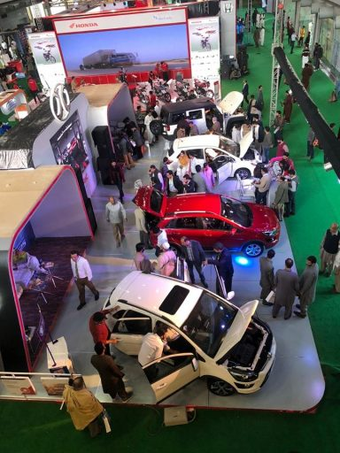 Sazgar Displays BAIC Vehicles at PAPS 2020 2