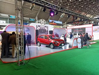 Sazgar Displays BAIC Vehicles at PAPS 2020 3