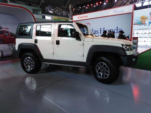 Sazgar Displays BAIC Vehicles at PAPS 2020 13