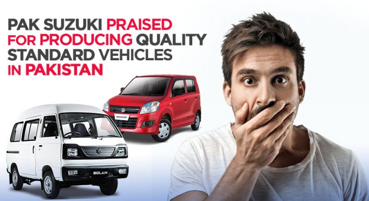Pak Suzuki Praised for Producing Quality Vehicles in Pakistan 1