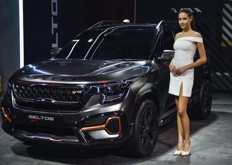 Kia Seltos X-Line Concept Showcased at 2020 Auto Expo 2