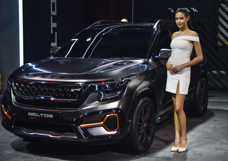 Kia Seltos X-Line Concept Showcased at 2020 Auto Expo 1