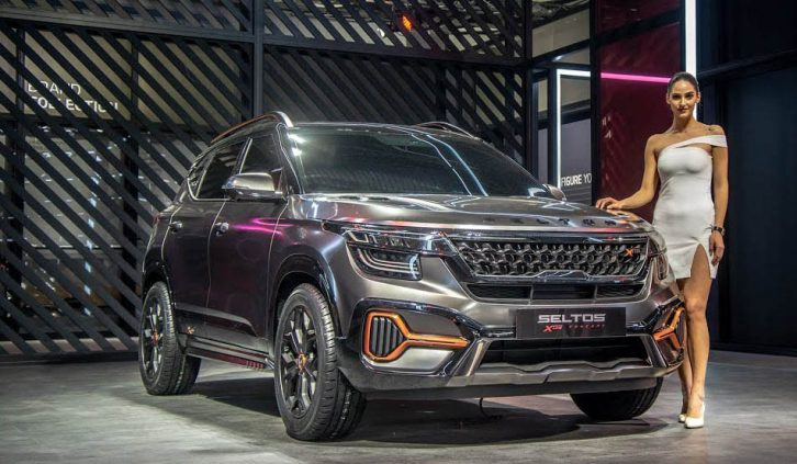 Kia Seltos X-Line Concept Showcased at 2020 Auto Expo 7