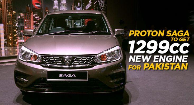 Proton Saga in Pakistan to Get New 1299cc Engine 2
