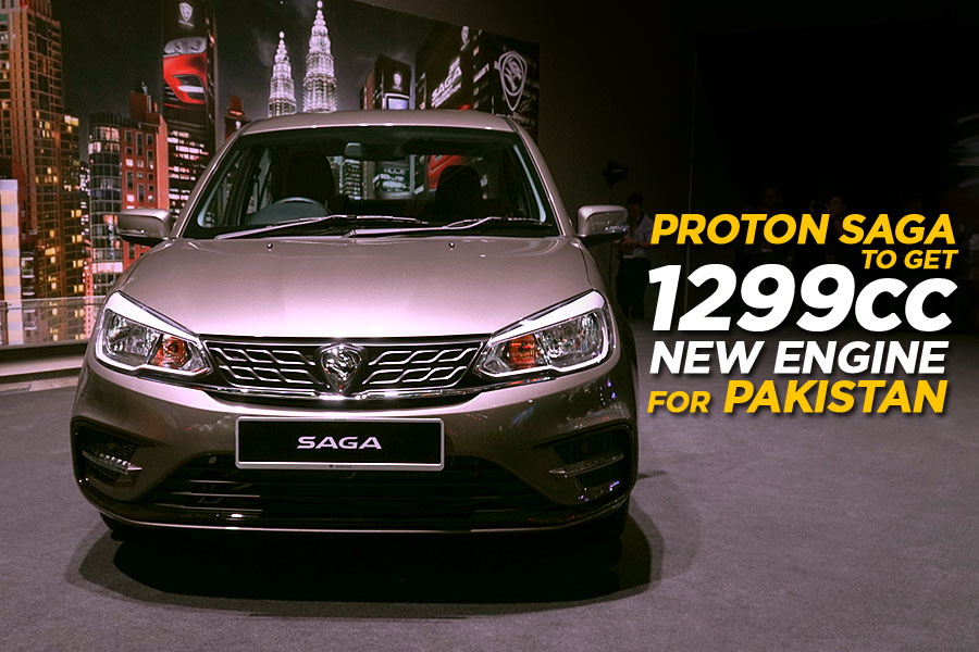 Proton Saga in Pakistan to Get New 1299cc Engine 4