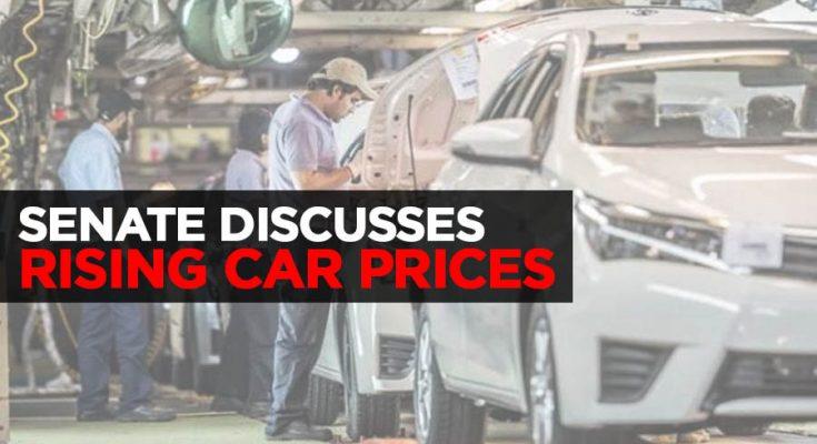 Senate Discusses Rising Car Prices 1