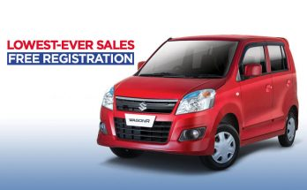 Pak Suzuki WagonR- Lowest Ever Sales & Free Registration 64