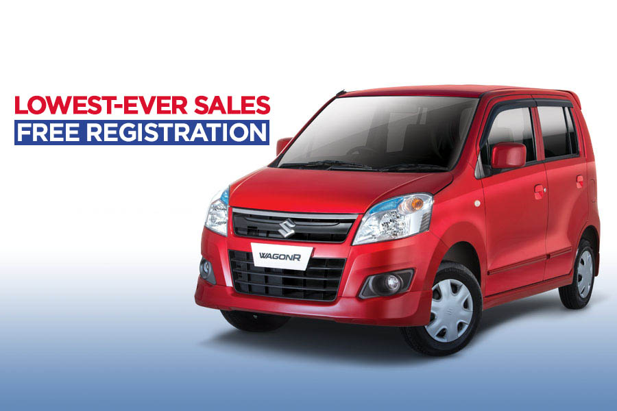 Pak Suzuki WagonR- Lowest Ever Sales & Free Registration 1