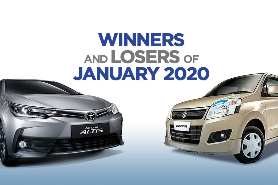 Winners and Losers of January 2020 2