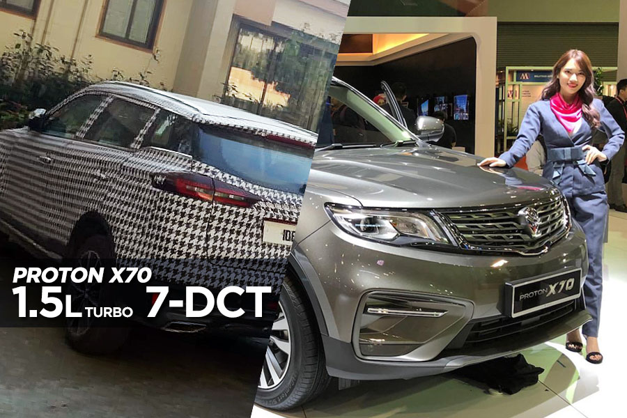 Proton X70 in Pakistan to Get 1.5L Turbo, 7-Speed DCT 7