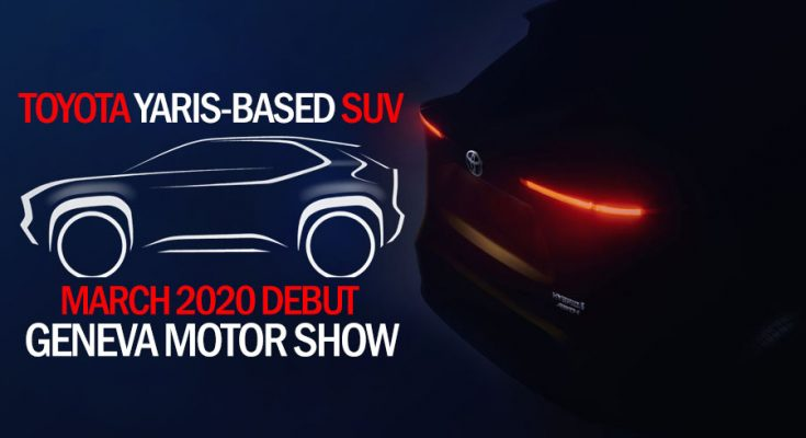 Toyota Yaris-based SUV to Debut at Geneva Motor Show 2