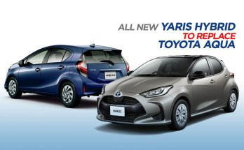 New Yaris Hybrid to Replace Toyota Aqua 10