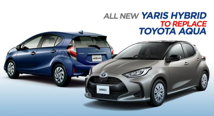 New Yaris Hybrid to Replace Toyota Aqua 2