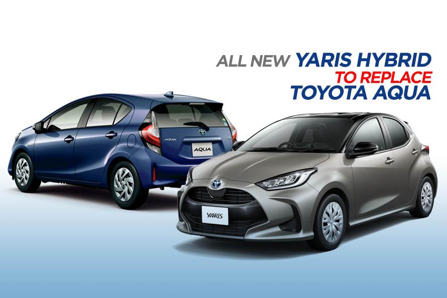 New Yaris Hybrid to Replace Toyota Aqua 1