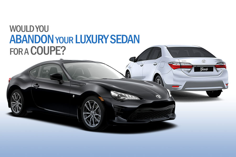 Would You Abandon Your Luxury Sedan for a Coupe? 1