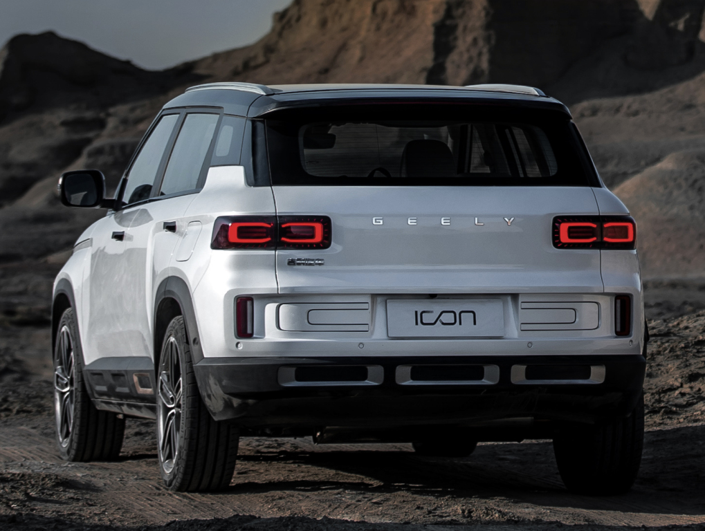 Geely's Stunning Icon SUV Launched in China 14