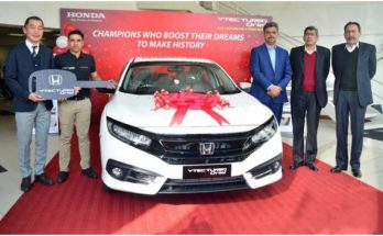 Honda Presents Civic Turbo Oriel to Abid Ali 1