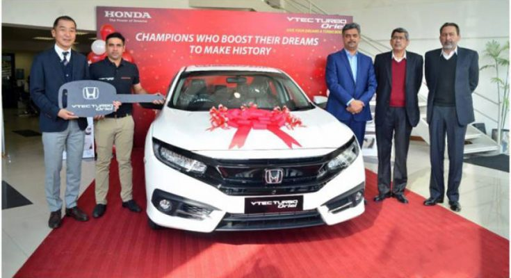 Honda Presents Civic Turbo Oriel to Abid Ali 2