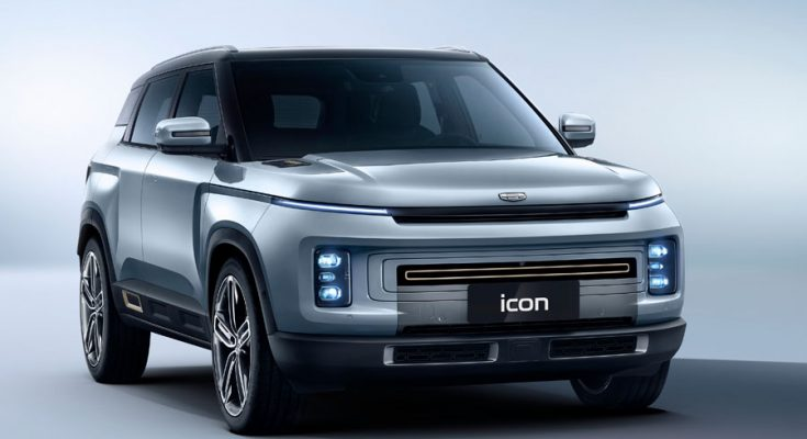 Geely's Stunning Icon SUV Launched in China 2