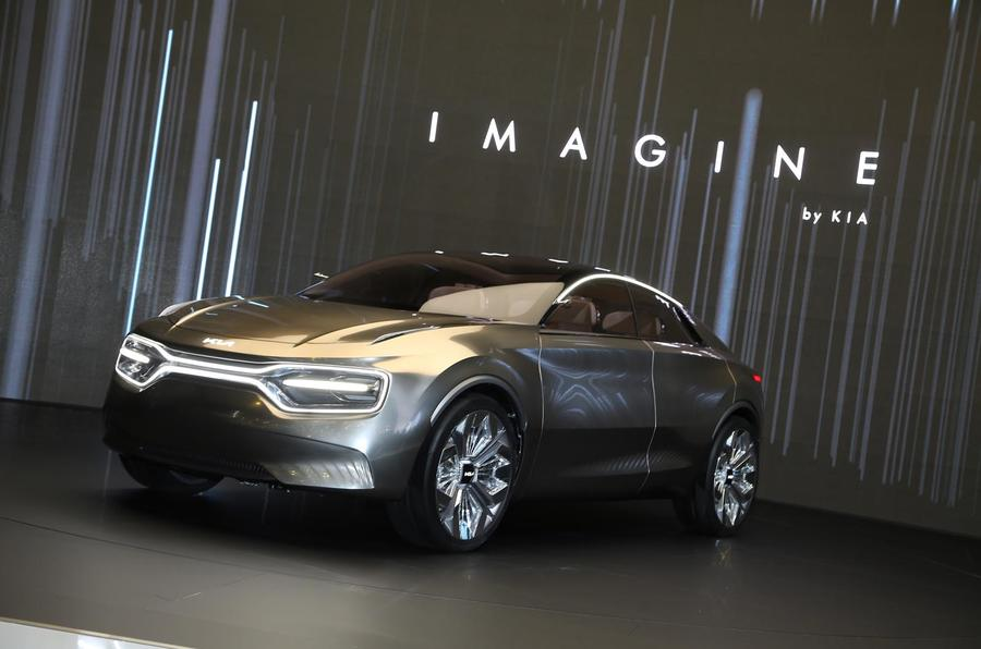 KIA Imagine Concept to Move into Production- 2021 Debut Expected 3