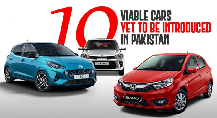 10 Viable Cars Yet to be Introduced in Pakistan 1