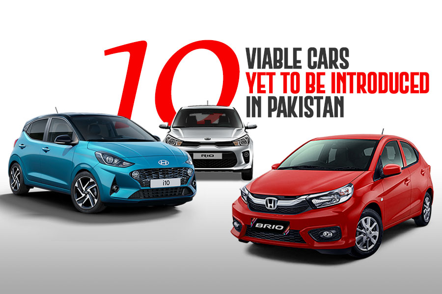 10 Viable Cars Yet to be Introduced in Pakistan 2