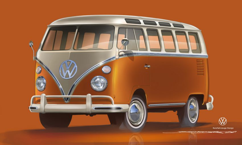 Volkswagen's Nostalgic Type 2 Van to Relive as E-Bulli 4