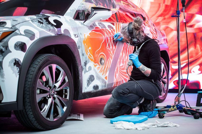 Lexus Unveils World's First Tattooed Car 7