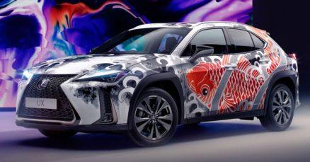 Lexus Unveils World's First Tattooed Car 10