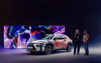 Lexus Unveils World's First Tattooed Car 13