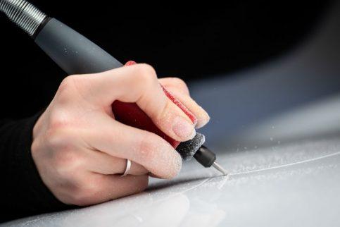 Lexus Unveils World's First Tattooed Car 2