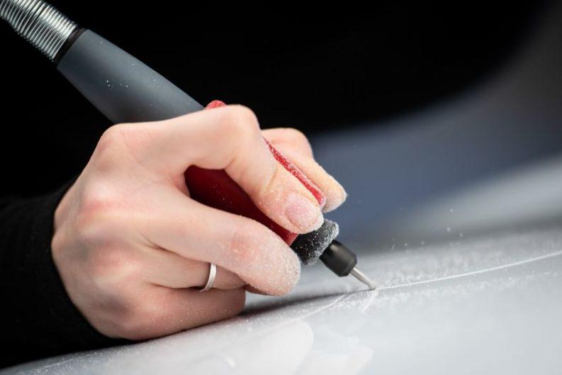 Lexus Unveils World's First Tattooed Car 1