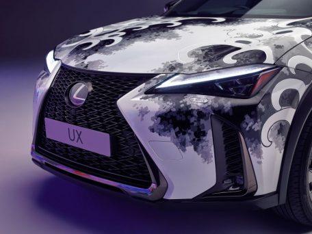 Lexus Unveils World's First Tattooed Car 9