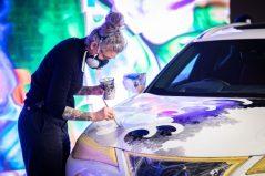 Lexus Unveils World's First Tattooed Car 4