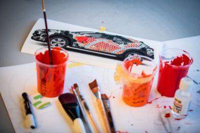 Lexus Unveils World's First Tattooed Car 5