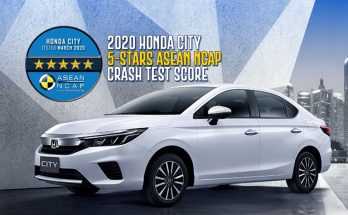 2020 Honda City Scores 5-Stars in Latest ASEAN NCAP Crash Tests 5