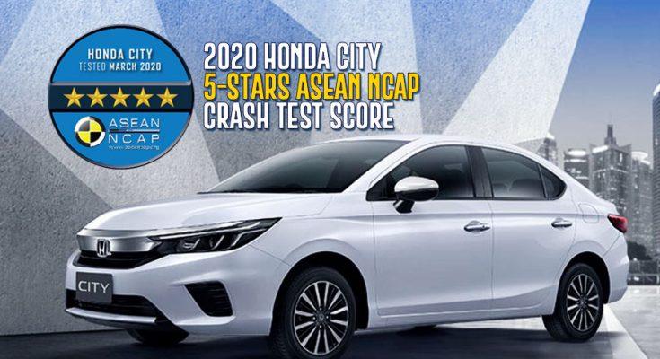 2020 Honda City Scores 5-Stars in Latest ASEAN NCAP Crash Tests 1