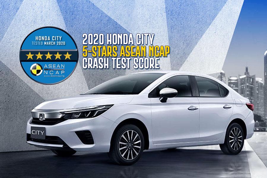 2020 Honda City Scores 5-Stars in Latest ASEAN NCAP Crash Tests 2