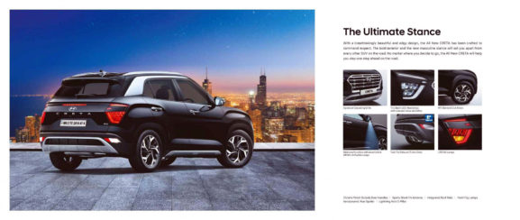 2020 Hyundai Creta Launched in India Priced from INR 9.99 Lac 12