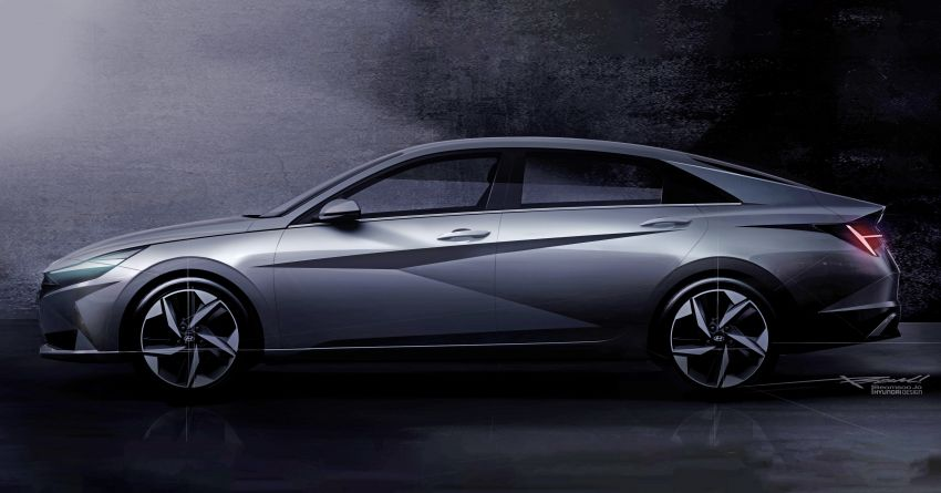 All New Hyundai Elantra Teased Ahead of 17th March Debut 2