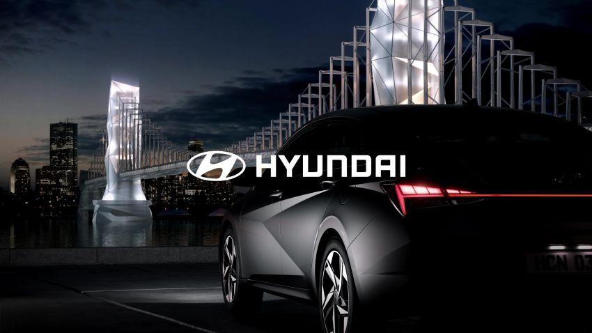 All New Hyundai Elantra Teased Ahead of 17th March Debut 6