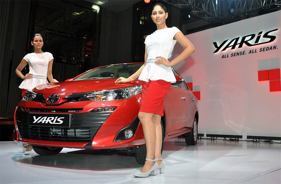 Toyota Pushing Hard the Not-So-Successful Yaris in India 2