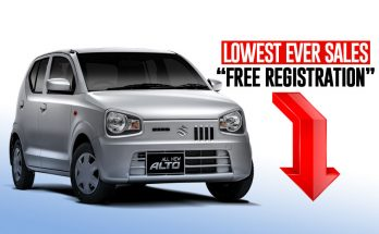 Pak Suzuki Alto- Lowest Ever Sales- Free Registration 10