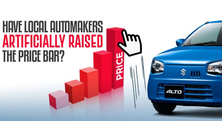 Have Local Automakers Artificially Raised the Price Bar? 1