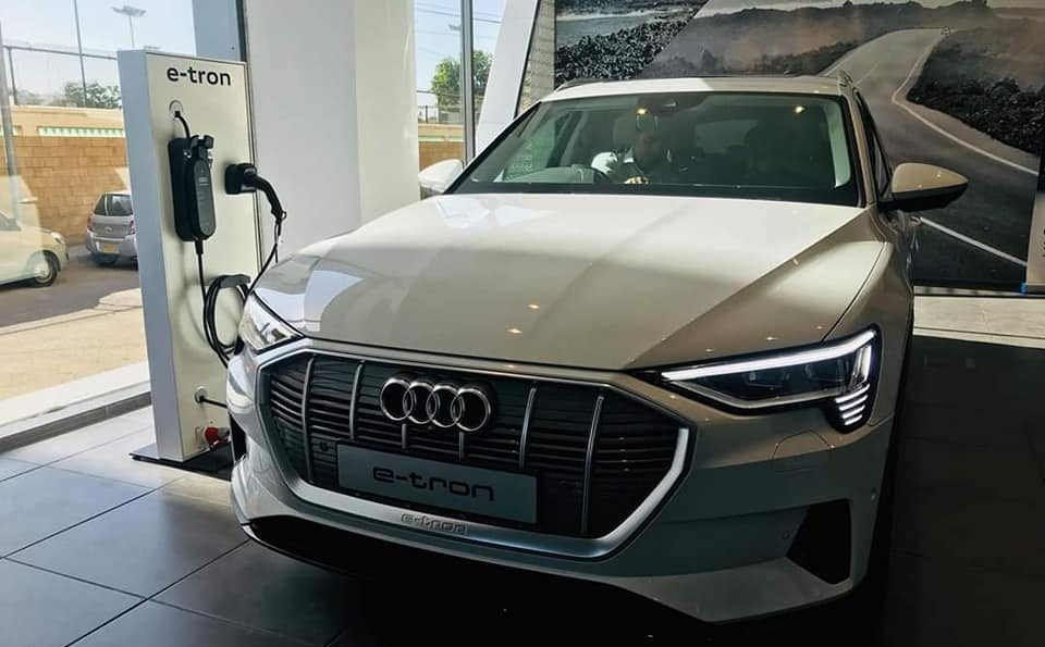 Audi Brings the E-tron Quattro Electric SUV to Pakistan 3