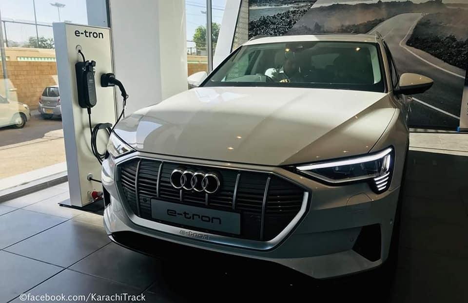 Audi Brings the E-tron Quattro Electric SUV to Pakistan 3