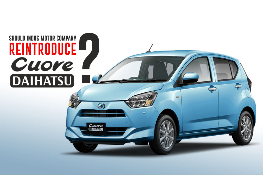 Should IMC Re-Introduce Daihatsu Cuore in Pakistan? 1