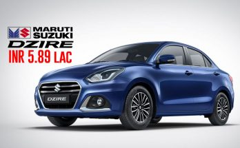 2020 Suzuki Dzire Facelift Launched in India from INR 5.89 lac 6