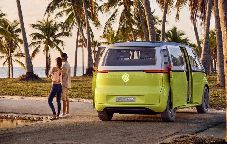 Volkswagen's Nostalgic Type 2 Van to Relive as E-Bulli 9